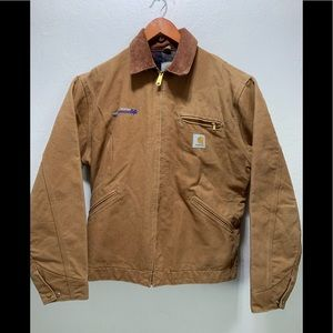 Carhartt blanket line fleece jacket